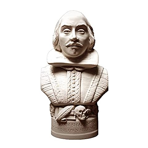 William Shakespeare Bust Famous Faces Collection 12cm High
