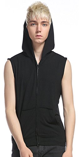 whatlees-summer-fashionable-mens-sleeveless-zip-up-work-out-hoodie-tank-shirt-b493-black-xxl