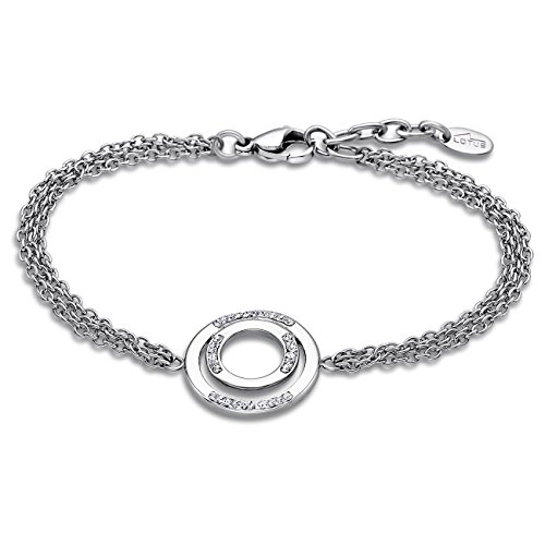 Lotus Style Bracelet Femme Strass Bliss acier-LS1883-2/1