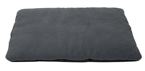 Zollner cuccia cuscino per cane, ca. 70 x 100 cm, altamente isolante, antiscivolo e lavabile, grigio scuro, serie rex