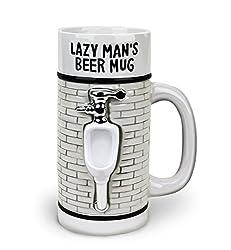 Bigmouth Inc Lazy Mans Beer Stein