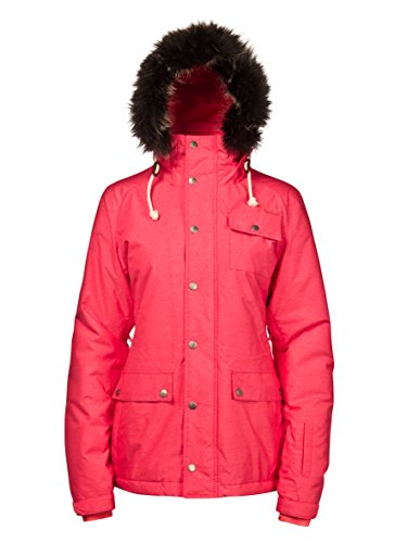 Protest Women'Snooki Snow Jacke s, Kirschrot, Größe XL/42 -