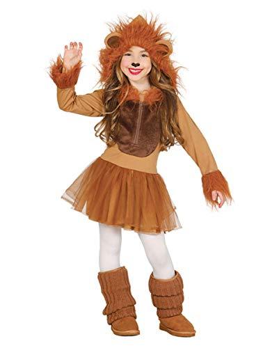 Horror-Shop Mädchenkostüm Löwe | S, M, L M (Löwen Mädchen Für Kostüme)