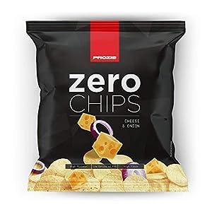 Prozis ZERO Protein-Chips 25 g Käse und Zwiebeln