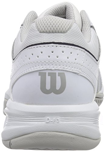 Wilson Nvision Envy Wh, Sneakers basses homme Multicolore (White/steel Grey/coal Wil)