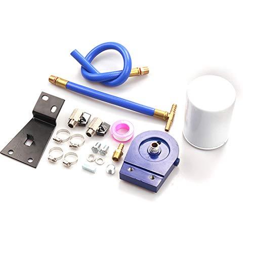 JGRH Kühlmittelfilter Filtration Kit für 99-2003 Ford F250-F550 7.3L Power Diesel