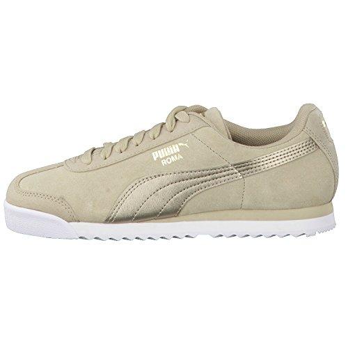 Puma Roma Classic Met Safari, Sneakers Basses Femme Beige (Safari-safari)