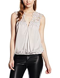Lipsy Damen Bluse Applique Wrap