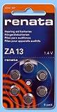 Renata ZA13, HA13, PR48, piles pour prothèses auditives PR13H 6-Pack, 310 mAh