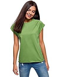 De Camiseta Básica Algodón Ultra Oodji Mujer vwqCBxx