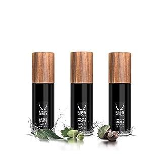 Ebenholz skincare Herrenpflege Gesichtspflege Jungbrunnen Set After Shave Anti Age 30 ml + Kraftpflege Anti Age 30 ml + Straffendes Augenserum 30 ml 9