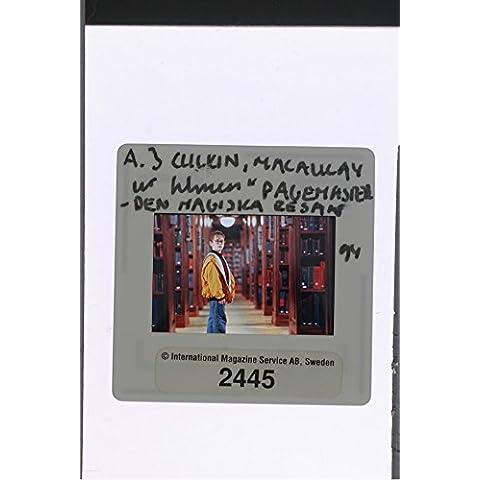 Slides photo of Macaulay Carson Culkin in