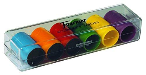 Fournier 521.716 - Gioco 6 Calici e fogli Parchis [importato dalla Spagna]