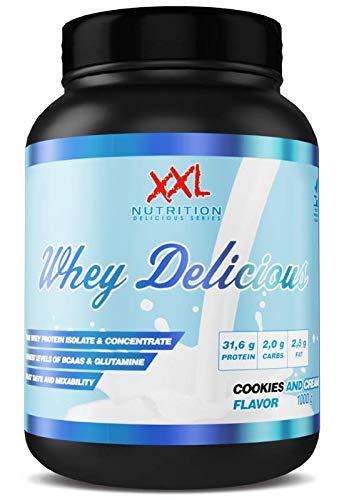 XXL Nutrition Whey Delicious Eiweisspulver/Protein Shake | 1000 Gramm | SnickerDoodle