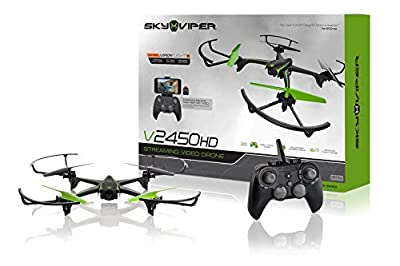 Sky Viper V2450HD Streaming Video Drone from SKYROCKET
