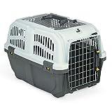 """Nobby 72135 Transportbox für kleine Hunde und Katzen """"Skudo 2 Open"""" 55 x 36 x 35 cm"""