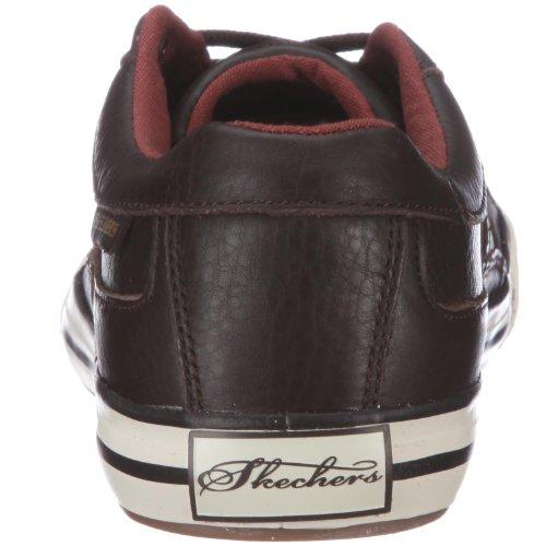 Skechers Planfix-Kano, Baskets mode homme Marron (Choc)