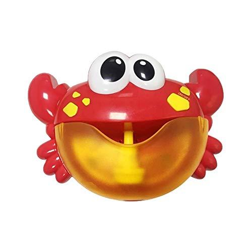 Shuxinmd Neuheit lustiges Spielzeug Nette Krabben-Blasen-Maschinen-Kinder, die Spielzeug Baden Zum Spaß