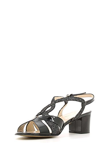 GRACE SHOES E6481 Sandalo tacco Donna Nero