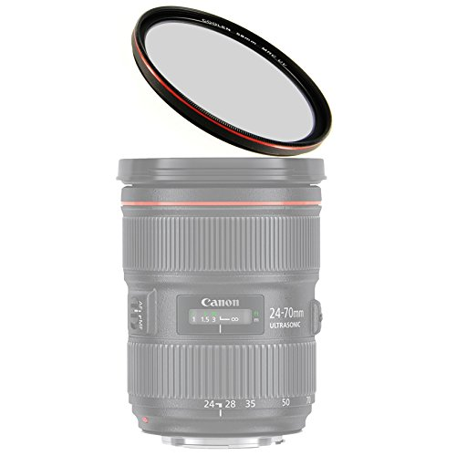 coolen-58mm-professional-hd-mrc-ultra-thin-multi-coated-uv-protector-filter-with-outer-frame-red-pla