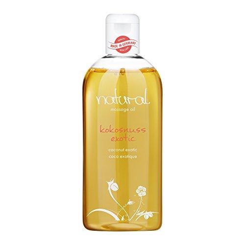 Natural Wellness Massageöl | erotisches Massage-Öl | exotischer Kokos Duft | 250 ml