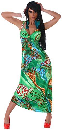 Graffith femme bretelles extra-longue à motifs élégant taille unique (34–38) Vert - Vert