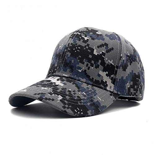 TRGFB Baseball Cap ACU Digital Camo Baseballmütze Männer Tactical Cap Camouflage Hysteresenkappe Für Männer Hohe Qualität Knochen Masculino Papa Hut (Digital Camo-hut)