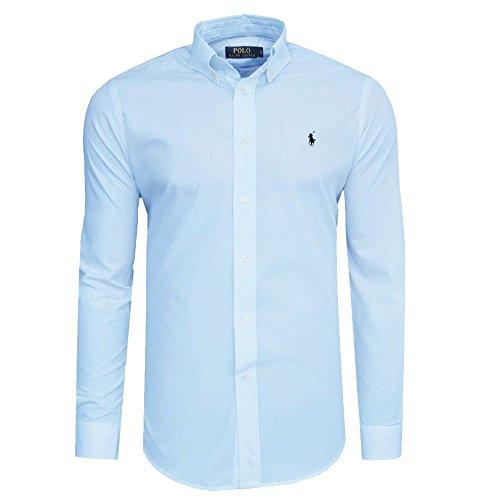 ralph-lauren-camisa-casual-con-botones-para-hombre-azul-hellblau-xx-large
