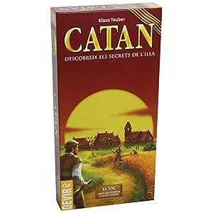 Devir – Catán, ampliación para 5 y 6 jugadores en catalán (BGCAT56) (versión en catalán)