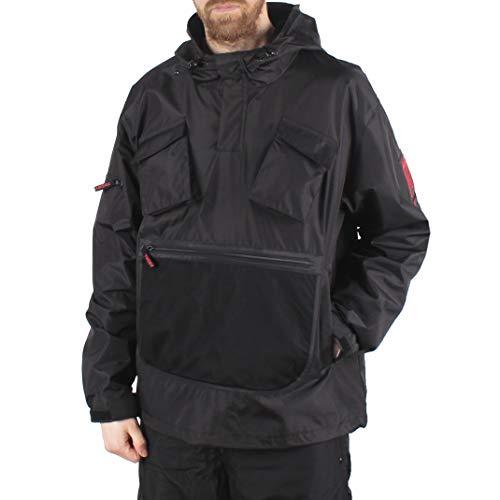 Agora AGC Pathfinder Pullover Jacket Schwarz (Large) Nylon-anorak Pullover