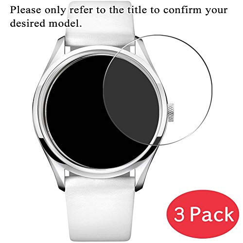 VacFun Lot de 3 Protection d'écran en Verre Trempé pour IWC International Watch Company IW325501 Mark XVI, 9H Film Protecteur sans Bulle Tempered Glass Screen Protector Montre Intelligente Smartwatch