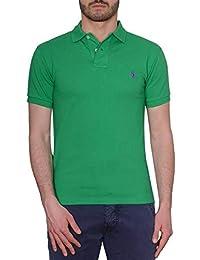 1f33ccf7c6f9 Ralph Lauren Homme 710536856137 Vert Coton Polo