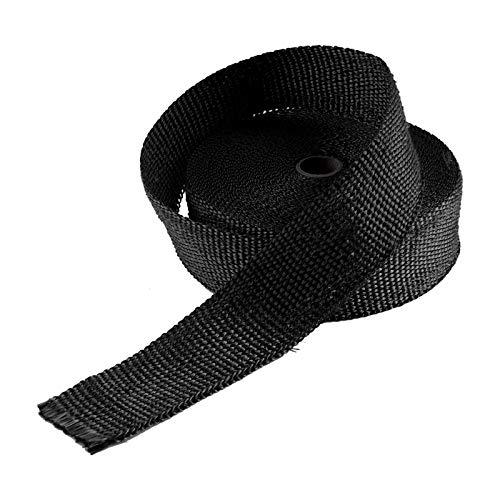 BALLSHOP 2 * 15m Titan Hitzeschutzband Basaltfaser Auspuffband mit Kabelbinder 50mm 1400°C +