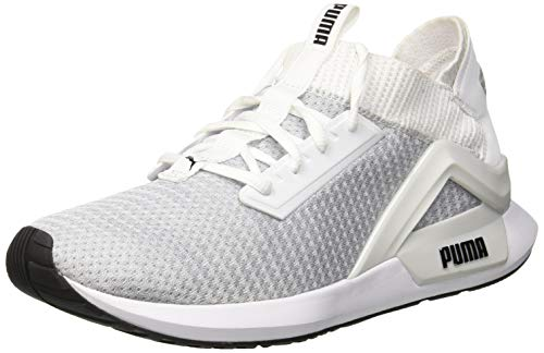 Puma Men's Rogue White Black Running Shoes