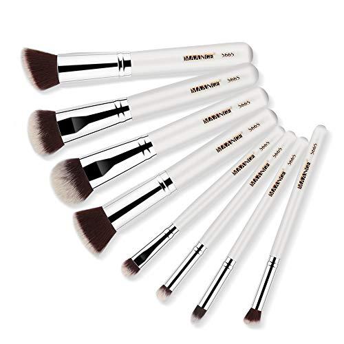 DaySing Brosse Makeup Brushes,Professionnelle Kits ,8Pcs Pinceaux De Maquillage Poudre Fondation Fard à PaupièRes Pinceau CosméTique LèVre Makeup Brushes Brush Beauté Maquillage