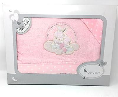 Danielstore-Sabanas invierno Sedalina CUNA 60X120 - (bajera+encimera+funda almohada).Color rosa