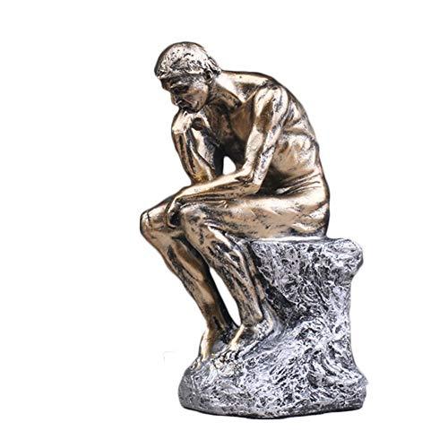 VICKI Estatua El Pensador Desnudo Masculino Escultura