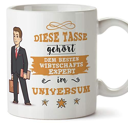 Wirtschafts expert Tasse/Becher/Mug Geschenk Schöne and lustige kaffetasse - Diese Tasse gehört dem besten Wirtschafts expert im Universum - Keramik 350 ml