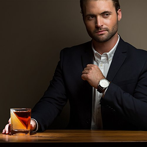 Das Whiskey Wedge Whiskyglas mit innovativer Eisform - 3