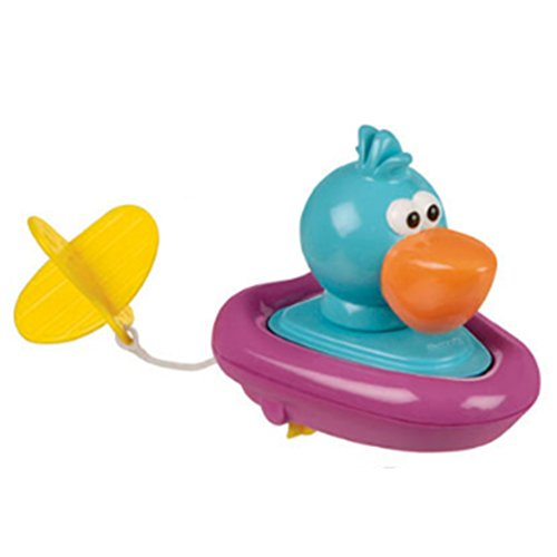 Baby Badespielzeug Pull String Tier Surfer Bad Spielzeug perfekt für Kleinkinder Kinder Wasser Parties und Badewanne Spaß