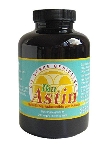 Astaxanthin - versandkostenfrei - BiuAstin 300 vegetarische Kapseln 4mg natürliches Astaxanthin - Das Original Ivarssons BiuAstin