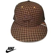 Sombrero unisex NIKE con visera de lana plana ajustable