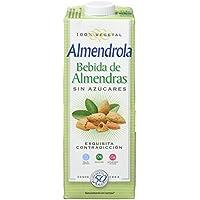Almendrola Bebida Vegetal de Almendras sin azucar - Paquete de 6 x 1000 ml - Total: 6000 ml