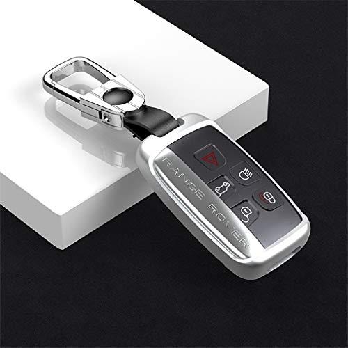WENWEN Key Chain Spezielle autoschlüssel Abdeckung Auto Fernbedienung Shell Legierung schlüssel Schutz Metall schlüsseloberteil Fernbedienung manschettenknöpfe (Farbe : B, größe : F)