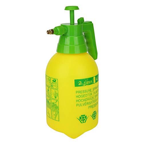 vanpower Bewässerung Sprayer Hand tragbare Gartenpflanze Blume Sprühflasche Flaschen Wasserkocher (2L Gelb) -