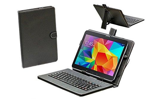 Navitech housse étui clavier français AZERTY avec support pour Galaxy Tab E