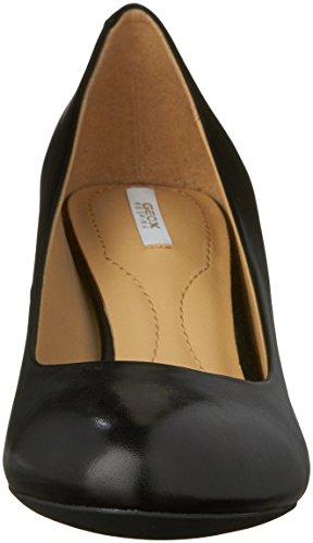 Geox D Mariele Mid B, Scarpe con Tacco Donna Nero (BLACK C9999)
