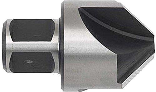 Kegel- und Entgratsenker für Kernbohrmaschinen, rechtsschneidend, mit Weldon 19-Direktaufnahme: HSS 90° Ø 30 mm x Weldon 19