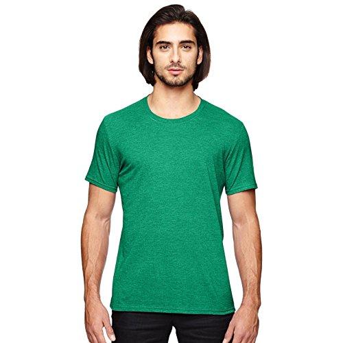 Anvil Herren Modern T-Shirt Grün (Heather Green)