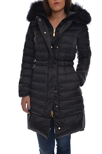 <p>GEOSPIRIT Cappotto piumino donna, NEW GATEPORT FUR grigio/nero, slim fit</p>